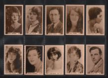 Tobacco Cigarette cards set RARE 1932 Cinema Celebrities